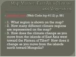 map master east asia climate and vegetation
