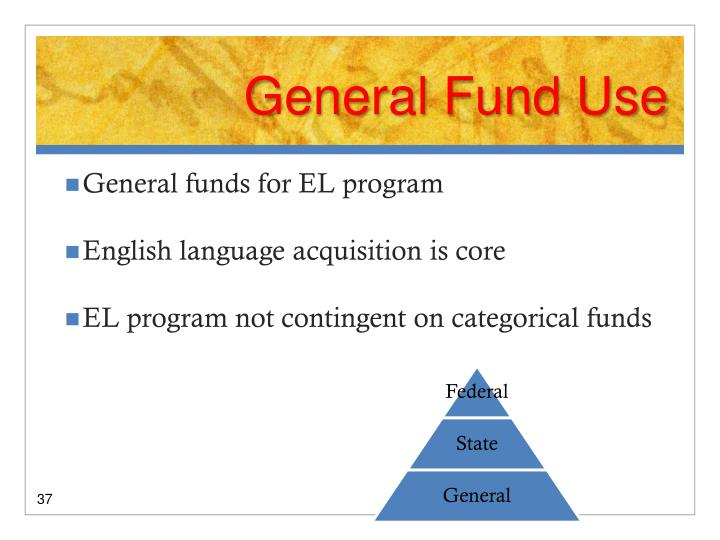 General Fund Use
