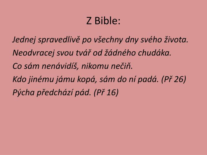 Z Bible: