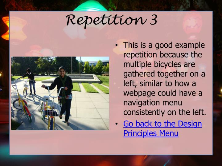 Repetition 3