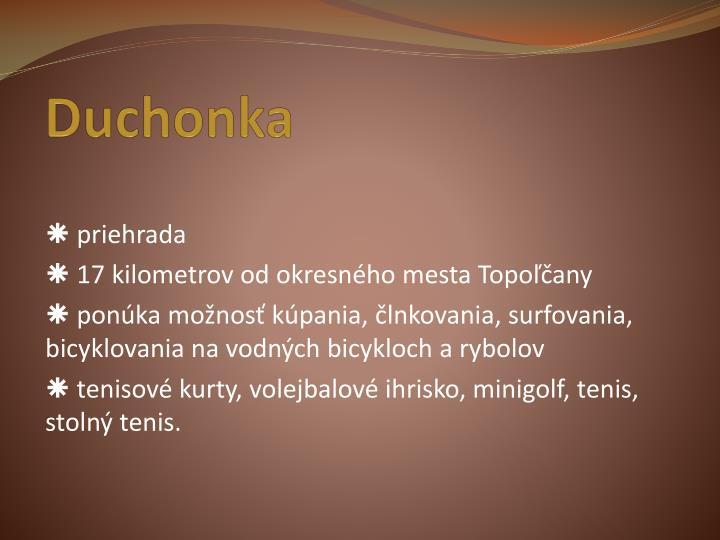 Duchonka