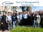 task 12 1 management coordination1
