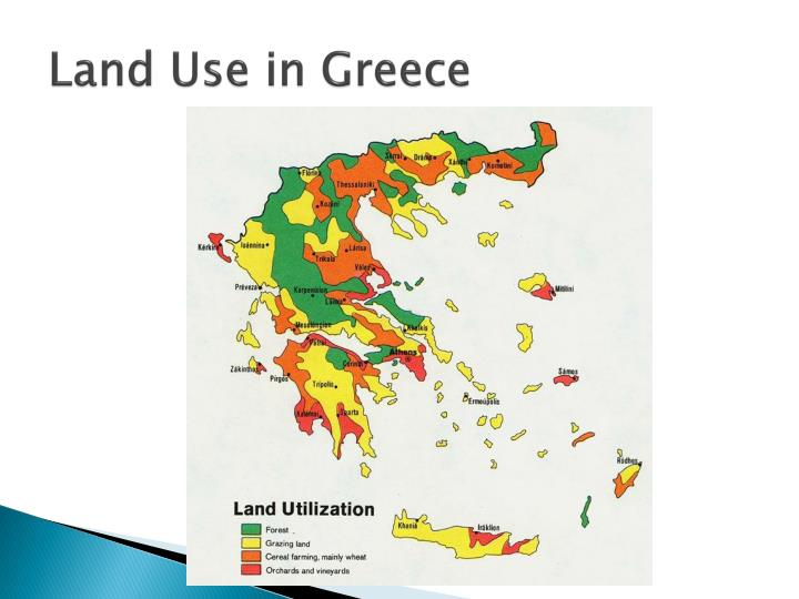 Land Use in Greece