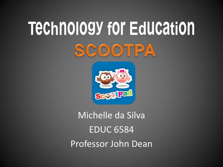 Technology for education