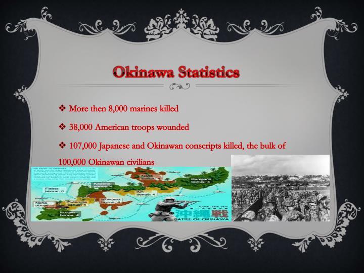 Okinawa Statistics