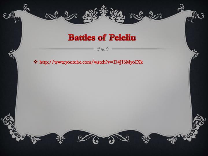 Battles of