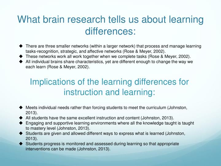 What brain research