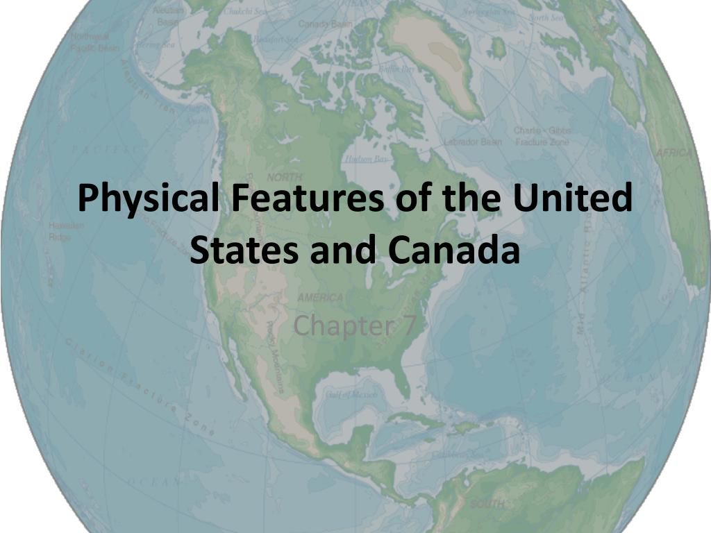 Picture of: Ppt Physical Features Of The United States And Canada Powerpoint Presentation Id 3237033