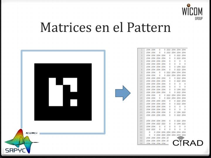 Matrices en el
