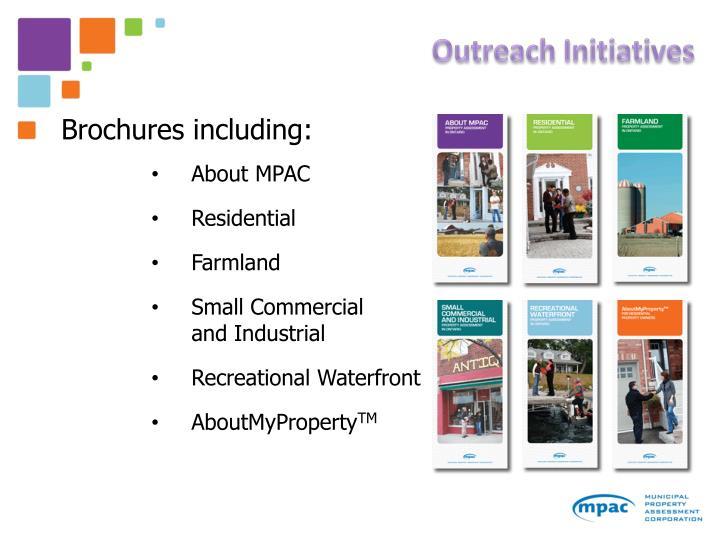 Outreach Initiatives