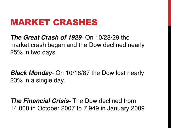 Market Crashes