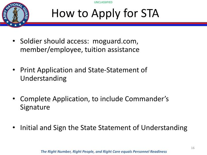 How to Apply for STA