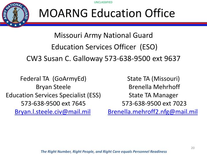 MOARNG Education Office