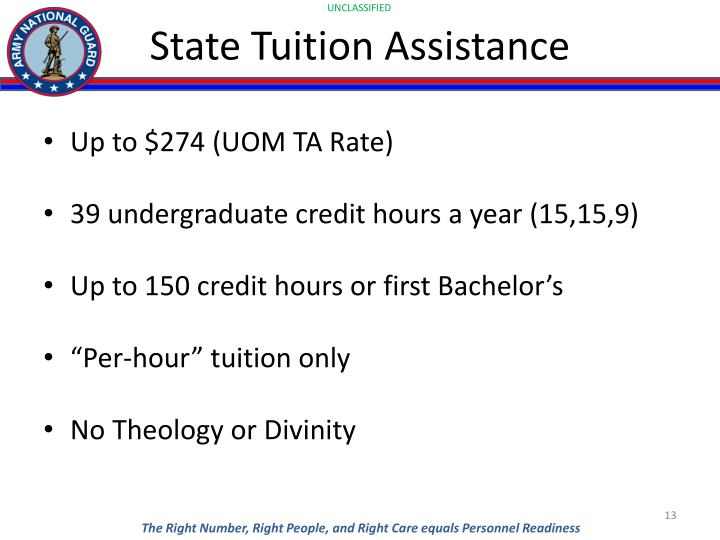 State Tuition Assistance