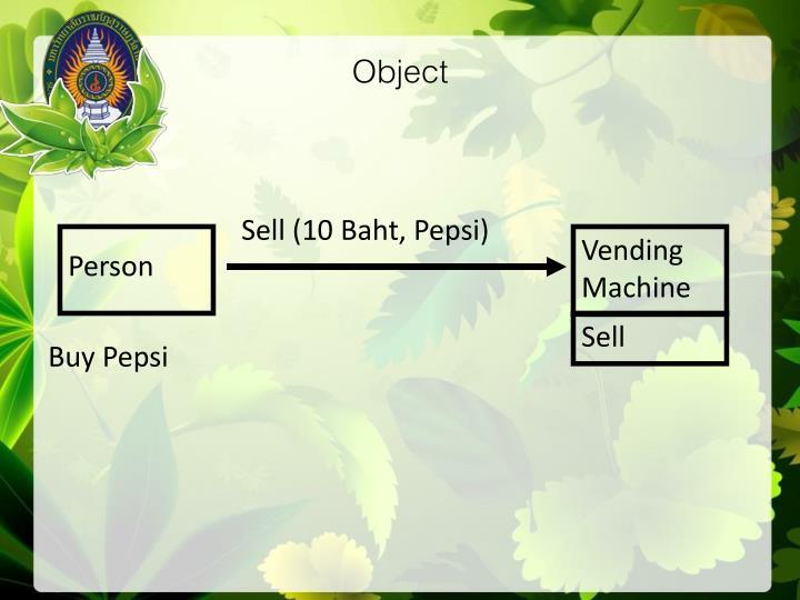 Sell (10 Baht, Pepsi)