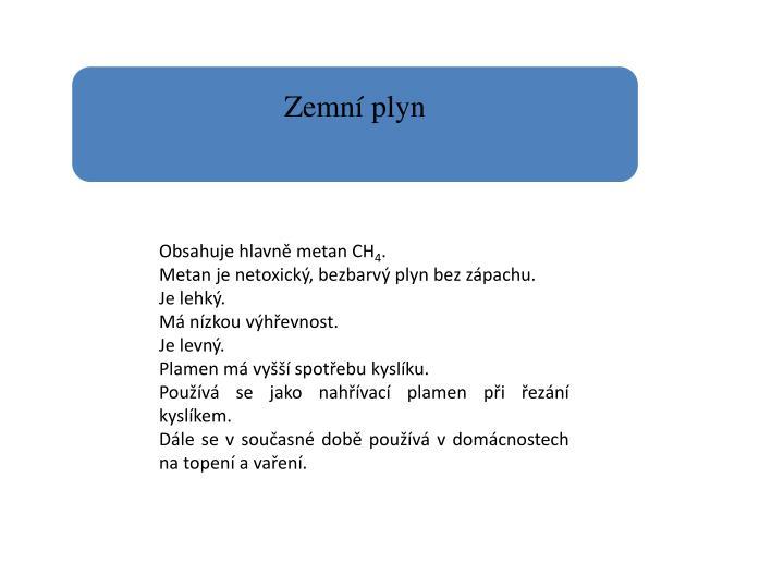Ppt Technicke Plyny Pro Svarovani Plamenem A Rezani Kyslikem