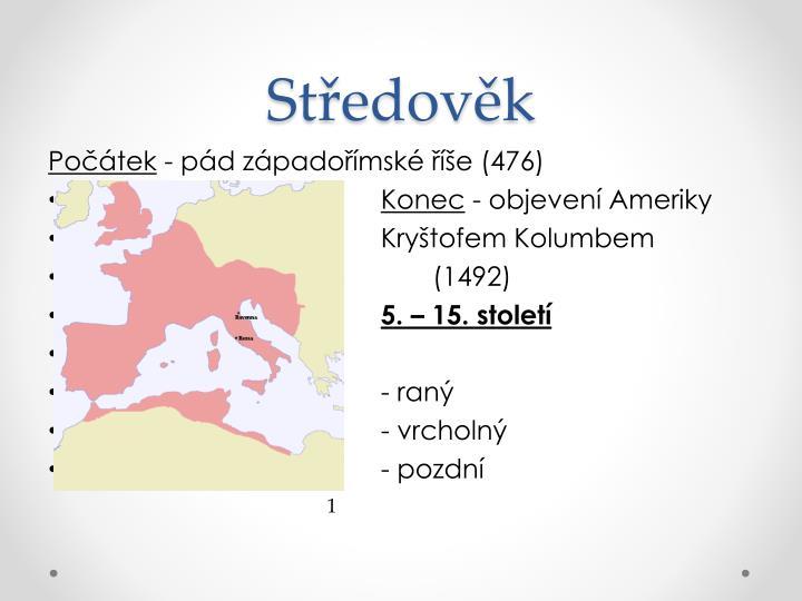 St edov k