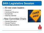 84th legislative session