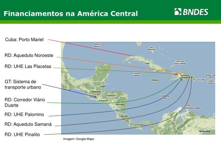Financiamentos na América Central