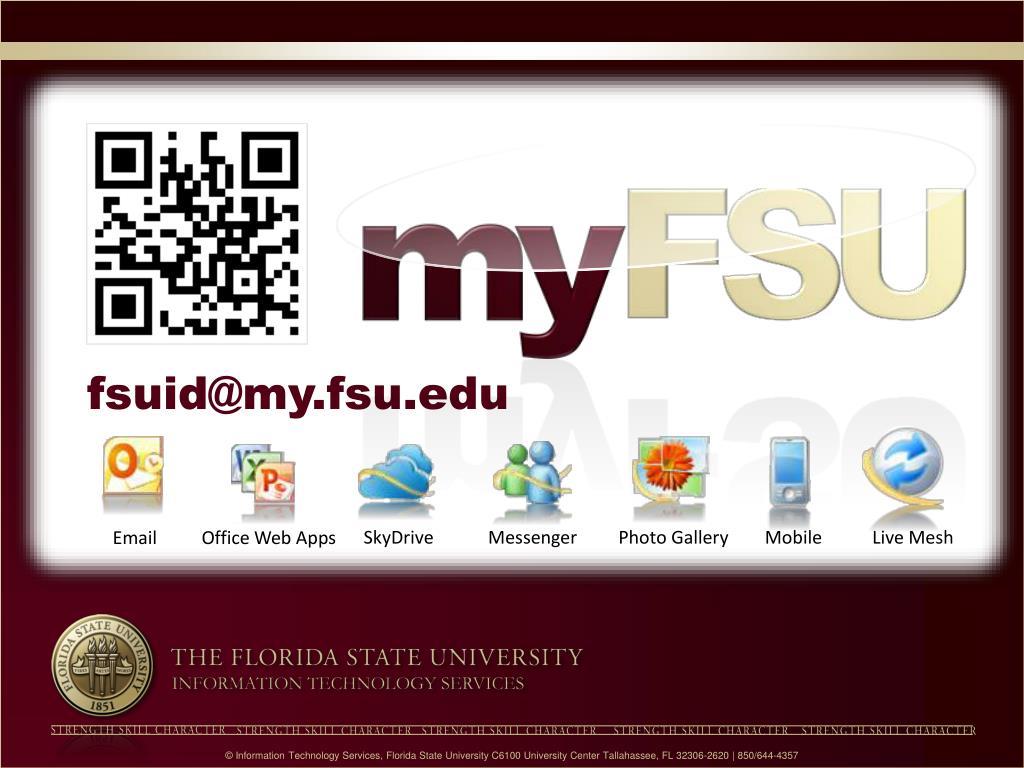 PPT - Student IT Essentials: ITS FSU EDU/NewStudents