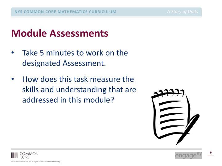 Module Assessments