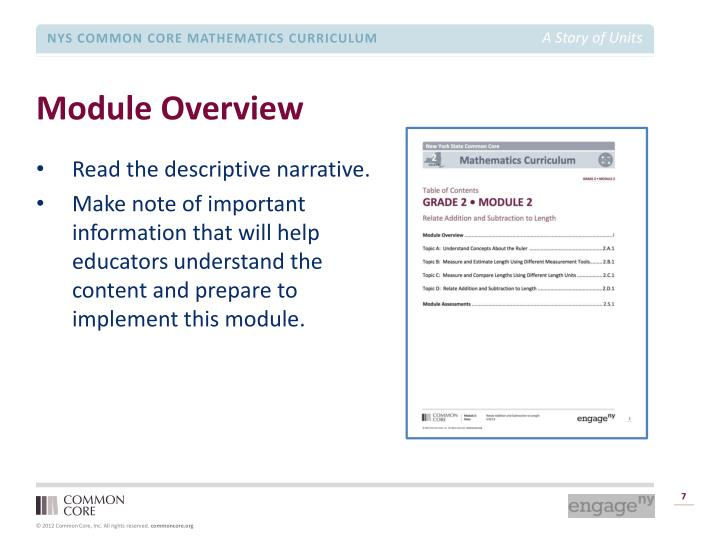 Module Overview