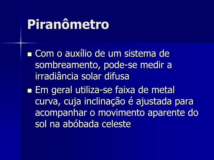 Piranômetro