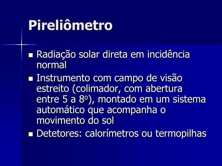 Pireliômetro