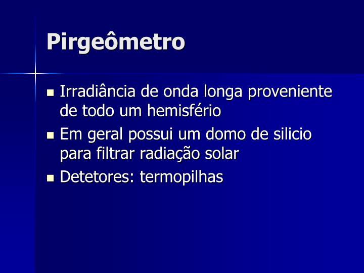 Pirgeômetro