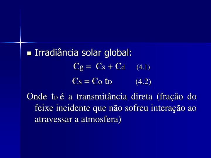 Irradiância