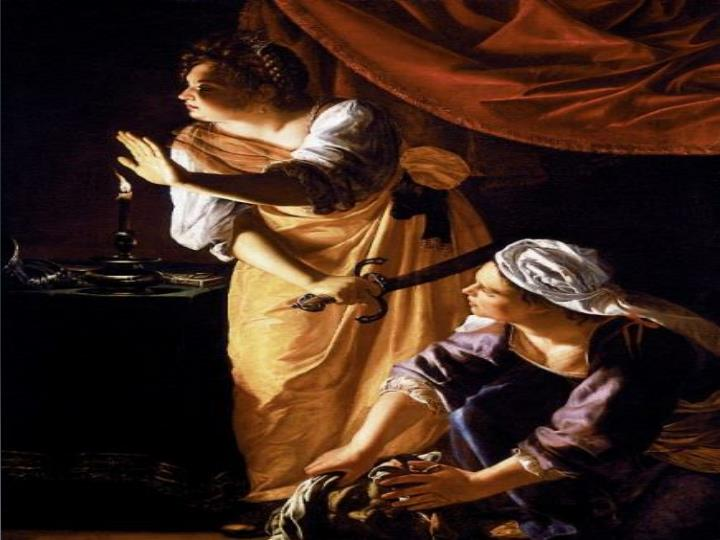 Art criticism on artemisia gentileschi s judith and maidservant with the head of holofernes