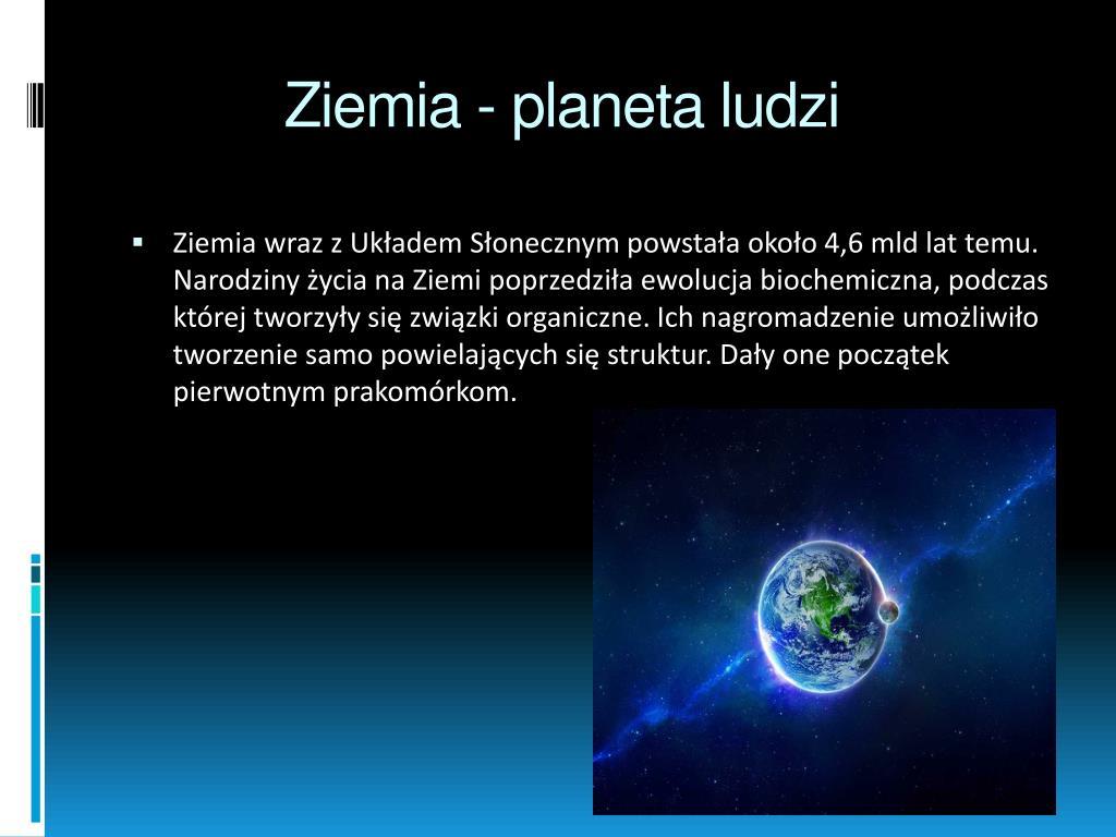 Ppt Ziemia Planeta Ludzi Powerpoint Presentation Id3242762