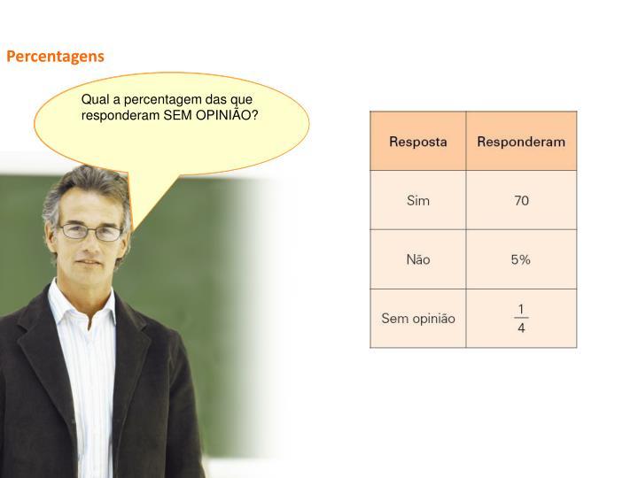 Percentagens