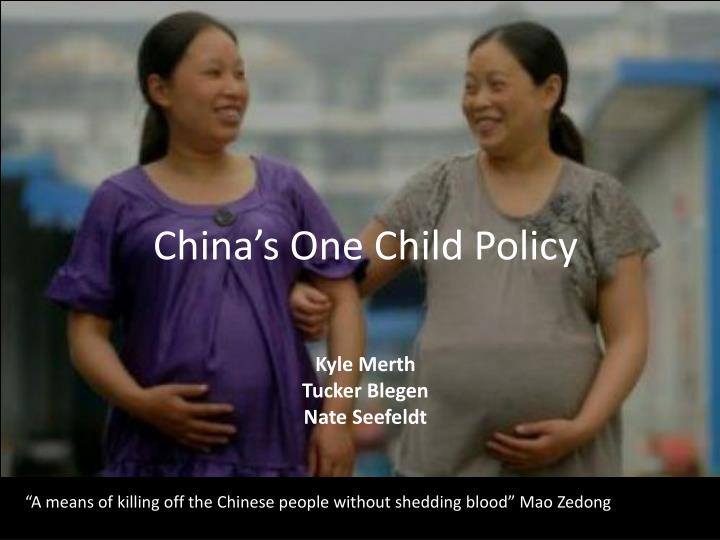china s one child policy n.