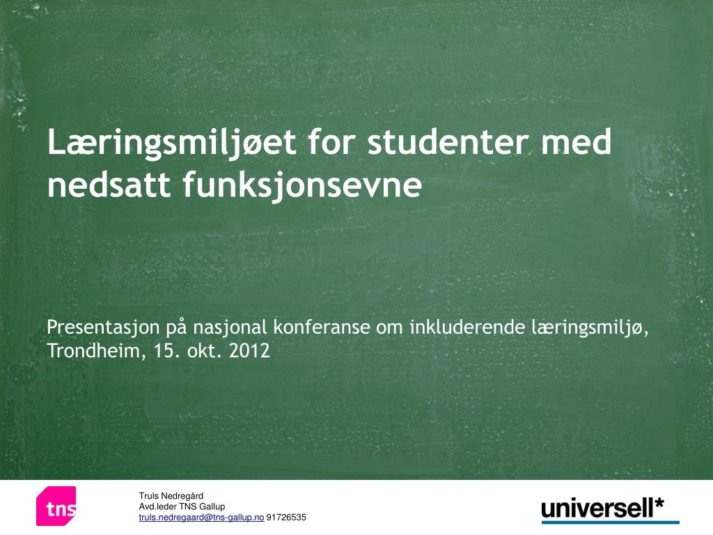 Norsk gallup institutt as
