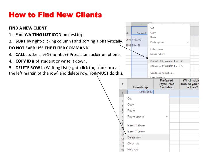 How to find new clients
