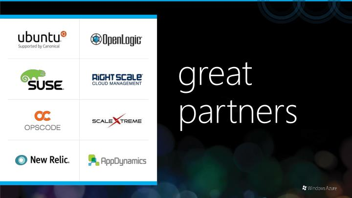 great partners