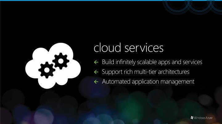 Build infinitely scalable apps and services