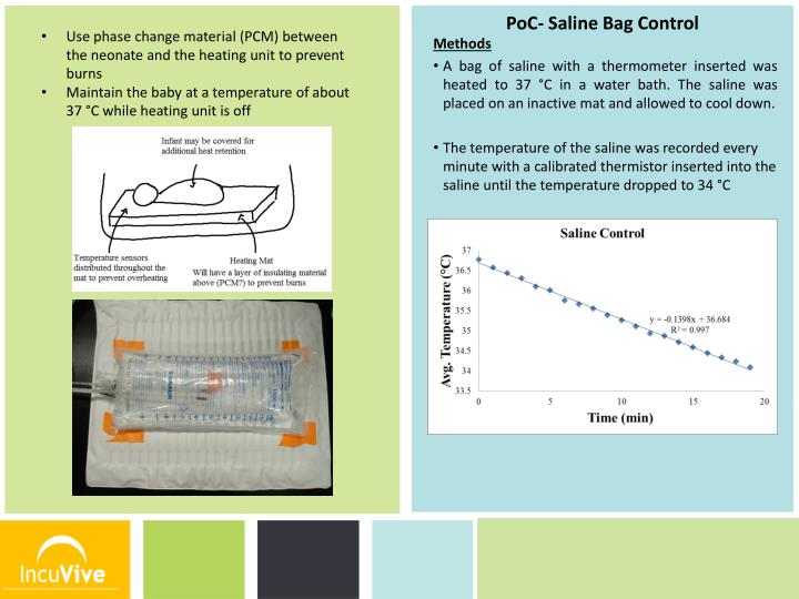 Use phase change material (PCM) between the neonate and the heating unit to prevent burns