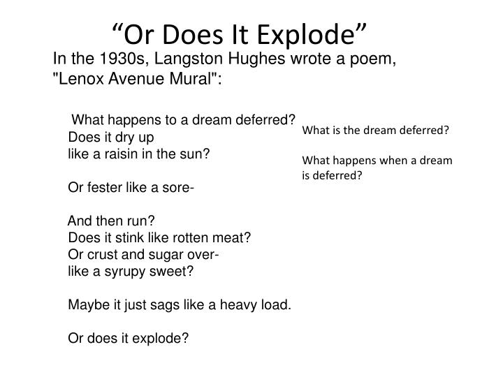 """""""Or Does It Explode"""""""