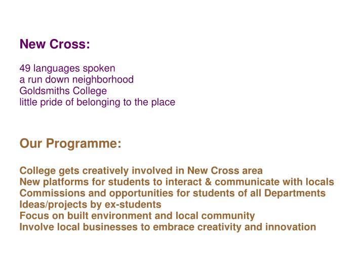 New Cross: