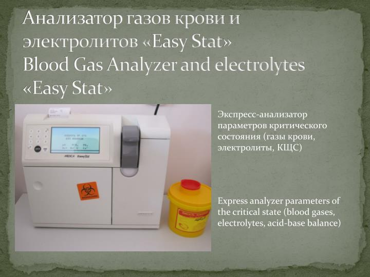 анализаторы состава газов
