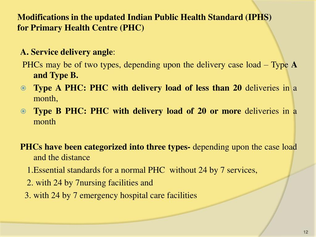 PPT - IPHS FOR PHC PowerPoint Presentation - ID:3246657