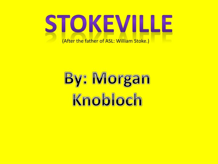 Stokeville