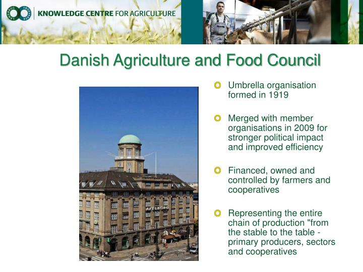 Danish agriculture and food council