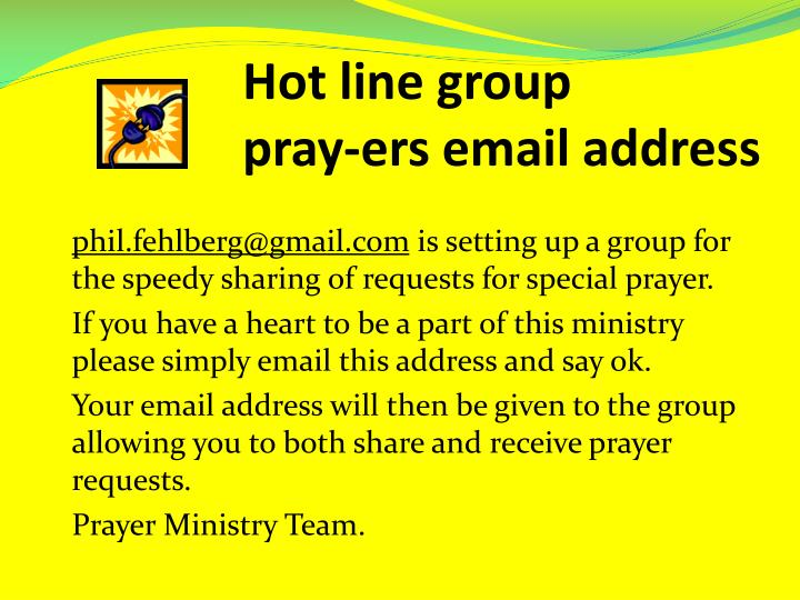 Hot line group