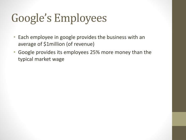 Google's Employees