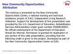 slide 17 new community opportunities attribution