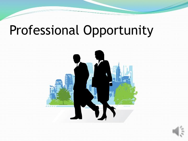 Professional Opportunity