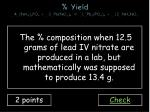 yield 4 nh 4 3 po 4 3 pb no 3 4 1 pb 3 po 4 4 12 nh 4 no 3